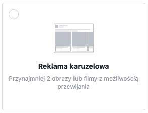 Reklama karuzelowa na Facebook'u | smuggled.pl
