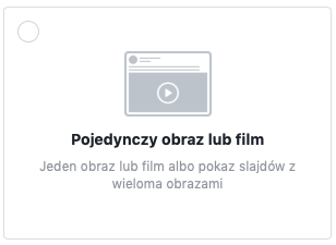 Reklama graficzna i reklama wideo na Facebook'u | smuggled.pl